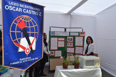 ESTUDIANTES DE RANCAGUA DIERON A CONOCER INVESTIGACIONES ESCOLARES EN FERIA INTERCOMUNAL