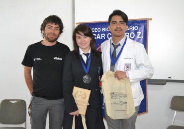 Estudiante Rancagüina viajará a la Antártica tras ganar Feria Científica Nacional en Punta Arenas