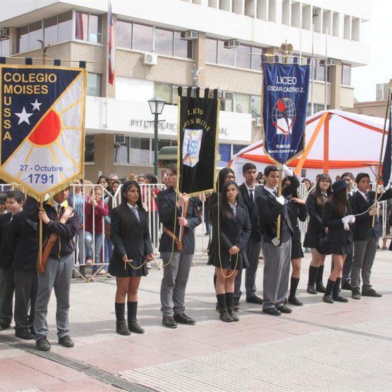 Con la restitución de los estandartes perdidos en la Batalla de Rancagua se conmemoró la gesta heroica
