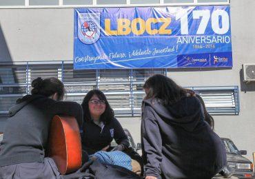 Liceo Óscar Castro Zúñiga celebra un nuevo aniversario 170 años de historia
