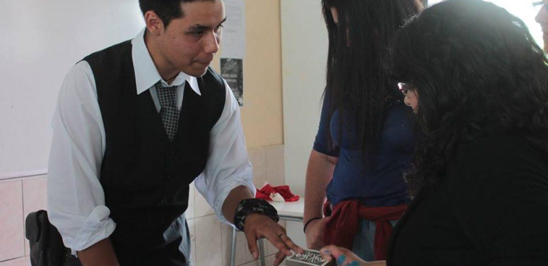 XII TOMA CULTURAL SE LLEVA A CABO EN LAS DEPENDENCIAS DEL LICEO BICENTENARIO ÓSCAR CASTRO ZÚÑIGA