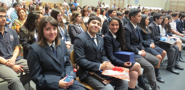 Premiación Estudiantes Liceo Bicentenario Óscar Castro Zúñiga